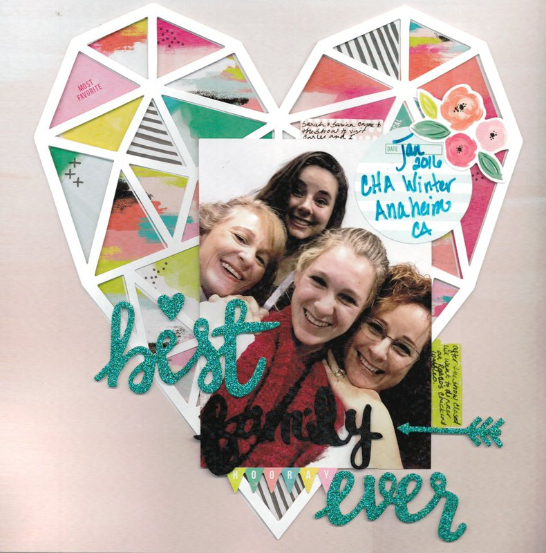 Best Family Ever **American Crafts, Pink Paislee, Paige Evans, Fancy Free