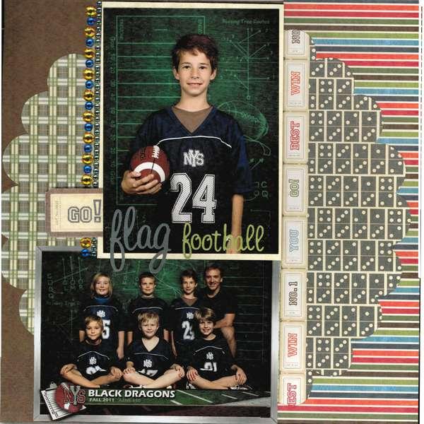 Black Dragons Flag Football