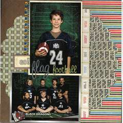 Black Dragons Flag Football