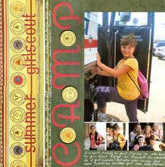 summer girlscout Camp