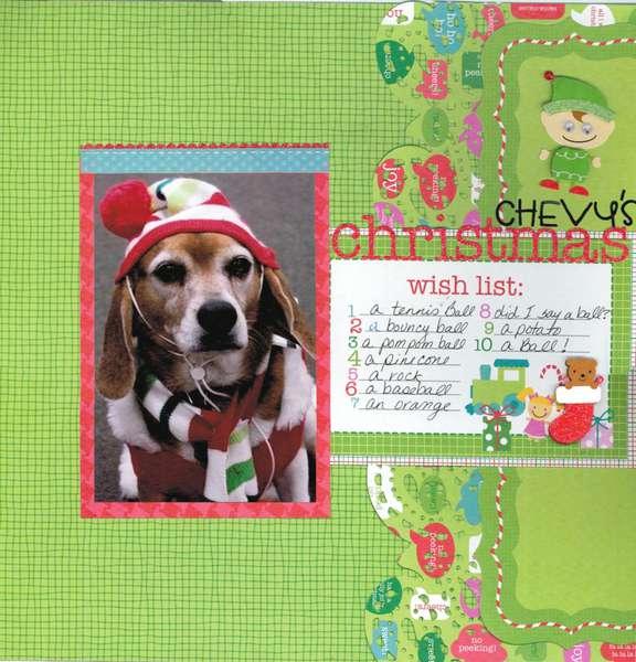 Chevy's Christmas Wish Pg 1