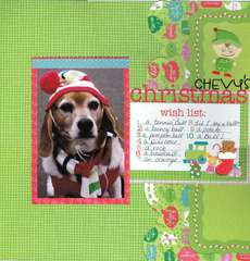 Chevy's Christmas Wish Pg 1