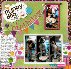 Puppy dog birthday