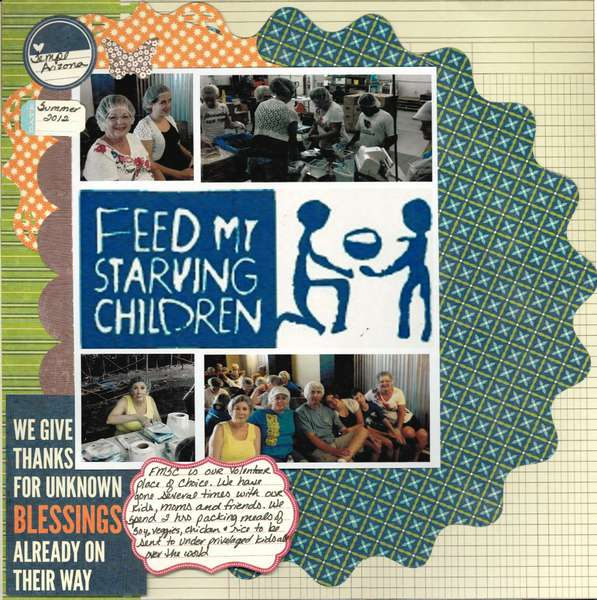 Feed My Starving Children - Summer 2011