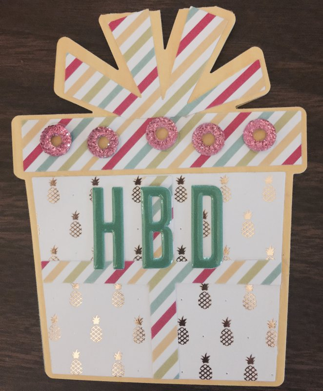 Fell in Love with the Sizzix Stephanie Barnard Gift Fold It Die