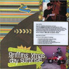 Griffin's Xmas Day Surprise
