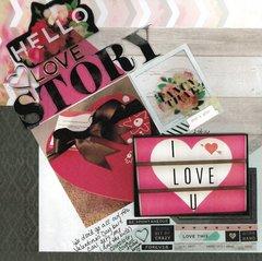 Hello Love Story **Pink Paislee C'est La Vie
