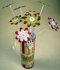 Chipboard Flower Bouquet