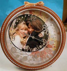 Precious Little Girls Altered Clock