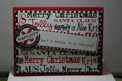 Canvas Corp Christmas Card by Riki Maio