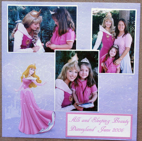 Disney - Alli and Sleeping Beauty