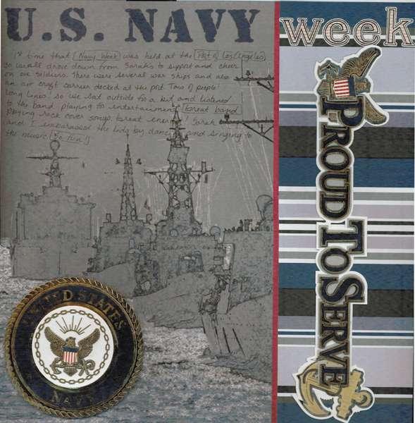 Navy Week at Port of Los Angeles