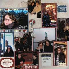 New York Memories 2011 featuring Scrapbook Customs New York Products