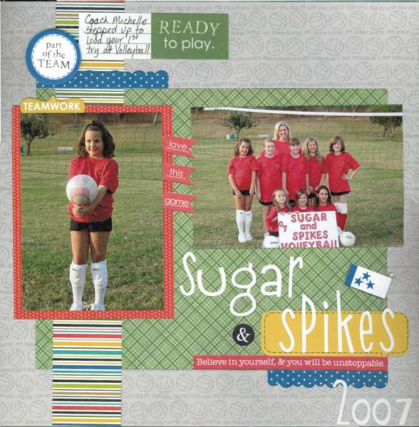 Sugar & Spikes Volleyball