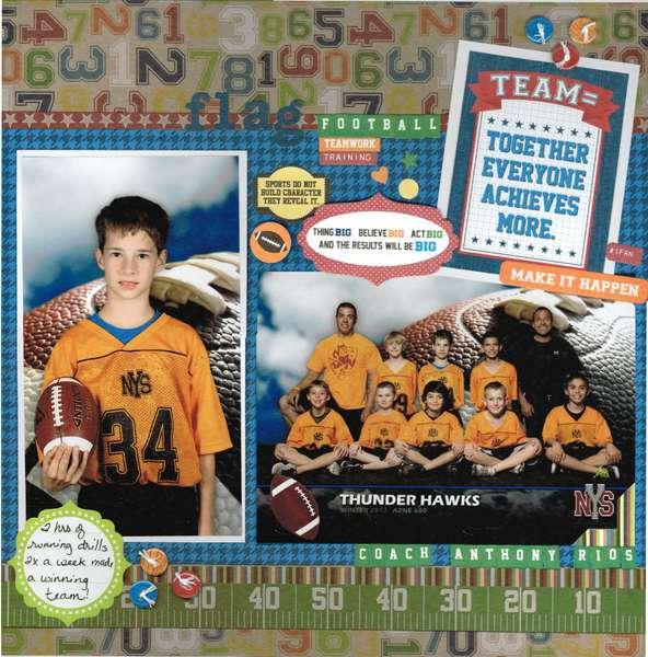 Thunder Hawks Flag Football