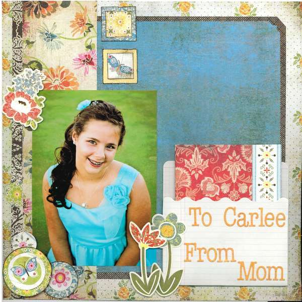 To Carlee From Mom