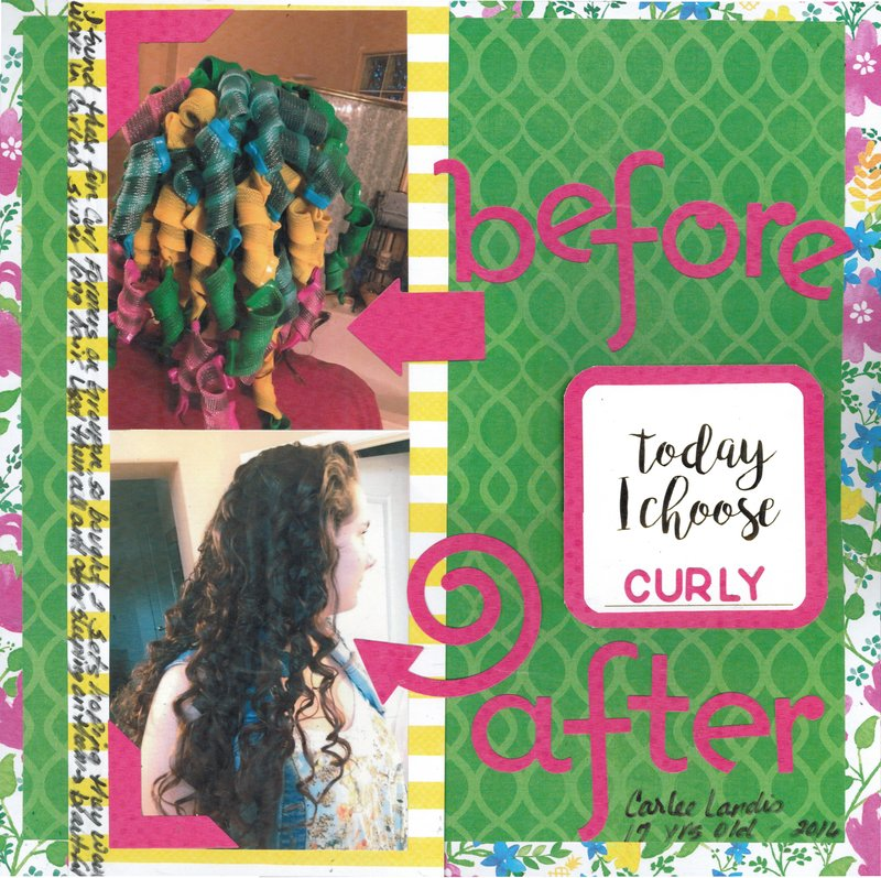 Today I Choose Curly