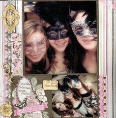 8th Grade Homecoming - Masquerade *Bo Bunny Primrose*