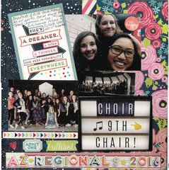 Choir 9th Chair **American Crafts Shimelle