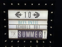 Countdown to Summer Vacation Has Started! **Heidi Swapp Lightbox