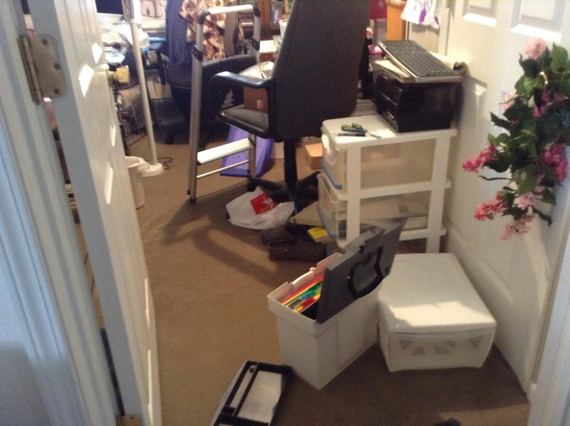Reorganizing scrap room