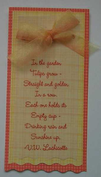 Tulip Poem