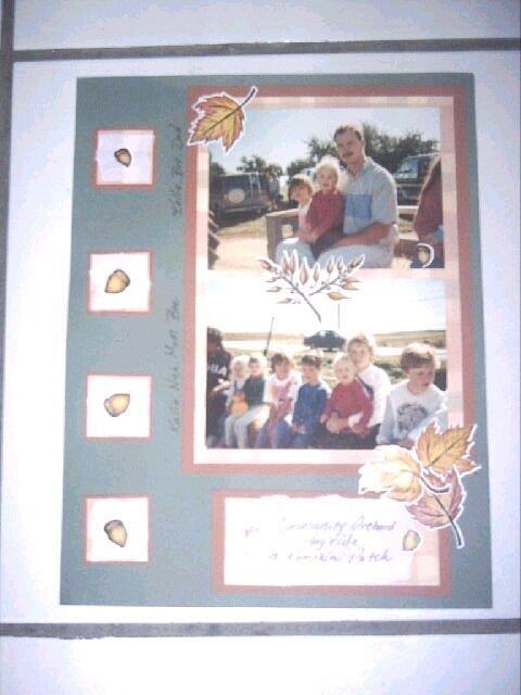 Fall at the orchard Hayride 1995