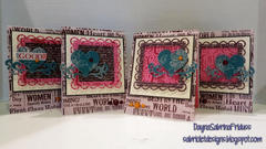 A Type of Art cards by Dayna Sabrina Friduss