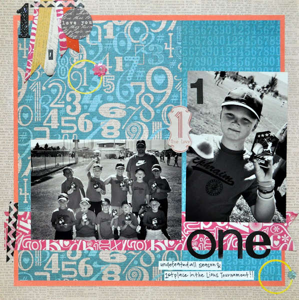 One by Erin Madsen featuring A Type of Art Stack from DCWV