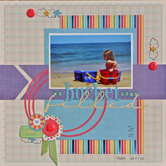 Beach Layout by Sara Andrews