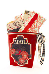 DCWV's Cinnamon Luster Mail Pail