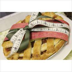 Decorative Band for Pie using DCWV Collage Musings Stack