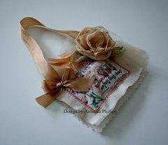 Fabric Sachet by Amanda Phillips
