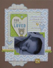 You Are So Loved Layout by Angela Alexander