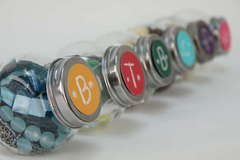 Embellishment Bottle Lids Using DCWV The Creamy Stack