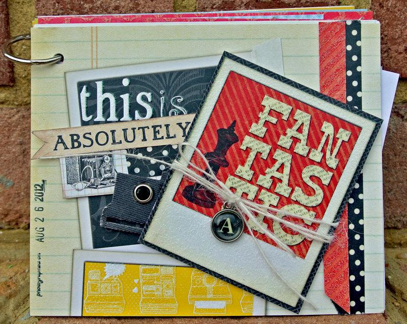 Snapshot Mini Album by Sara Andrews