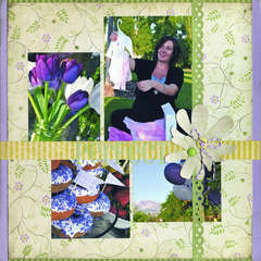 Perfect featuring the Chateau Lavender Stack from DCWV