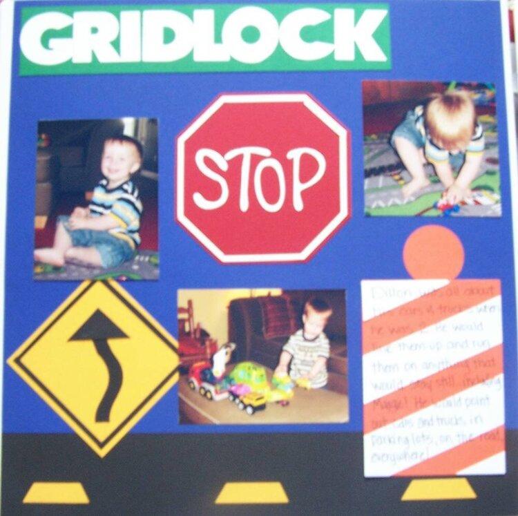 Gridlock (left)