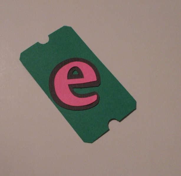 LOTW - letter e in Theme Park