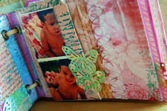 mini album DONNA DOWNEY canvas