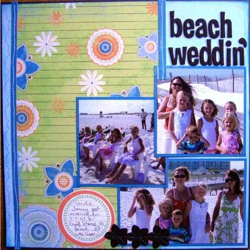 beach weddin'