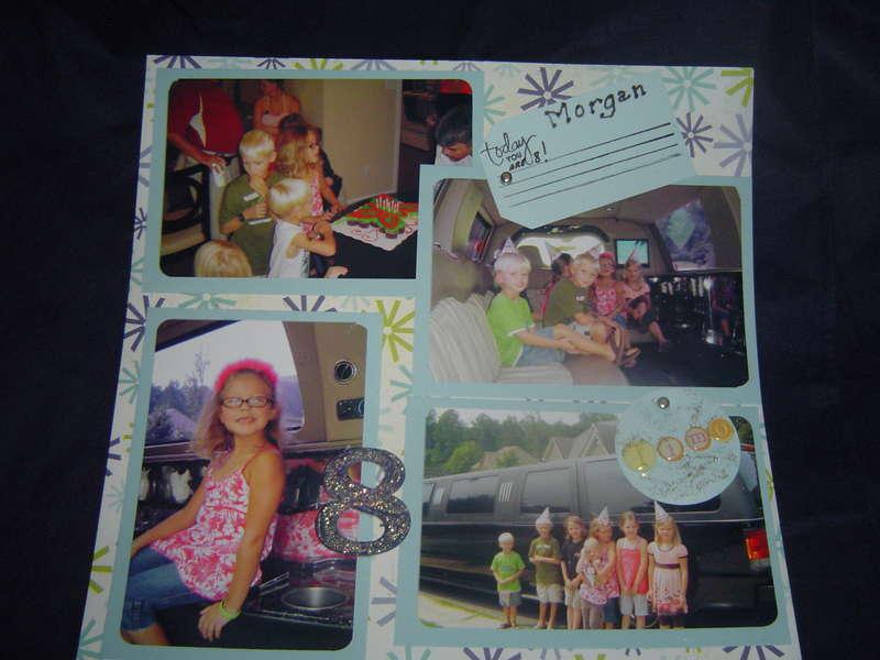 Morgan's 8th Birthday
