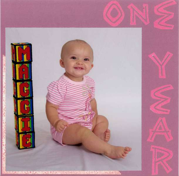 One Year - left side