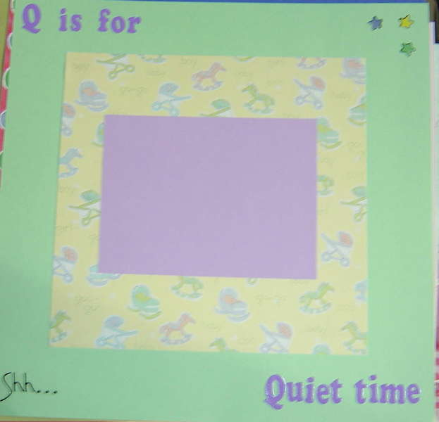 q is for quiet time