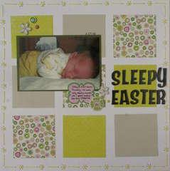 Sleepy Easter