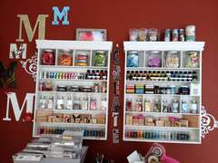 Making Memories Shelves, Monograms, and Vinyl