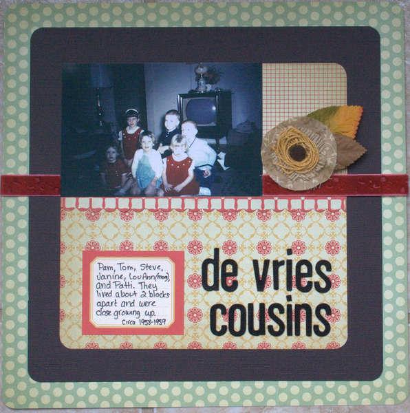 de vries cousins