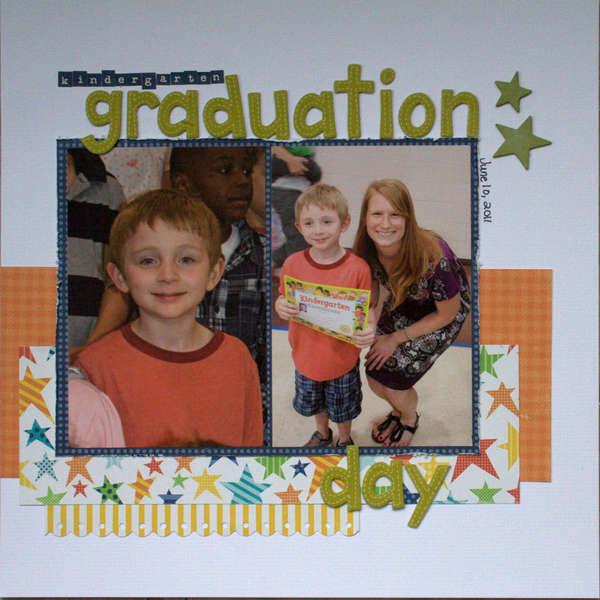kindergarten graduation day