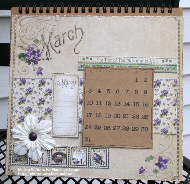 2013 calendar - March