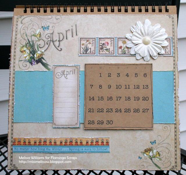 2013 calendar - April